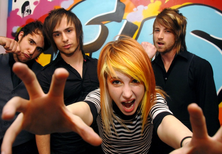 """Paramore and Lily Allen Visit FUSE's """"The Sauce"""" - June 13, 2007"""