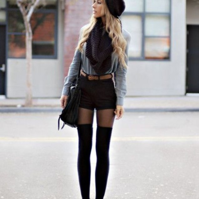 ae5guc-l-c680x680-high waisted short-tights-pants-underwear-shirt-scarf-hat-shoes-tumblr-denim-beanie-beautymanifesto--winter-autumn-classy-socks-shorts-sweater-bag-black-outfit-tumblr o